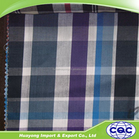 yarn dyed shirting fabric in new check pattern