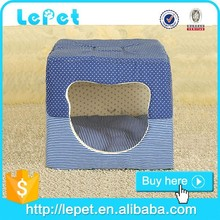 Low price wholesale 2 in1Double-use soft cozy pet cat house dog house bed