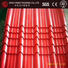 galvanized iron sheet roll/corrugated plastic roofing sheets for greenhouse