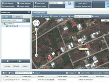 Pc Web Software Gps Tracking Device Supports Google Earth, Android and Iphone