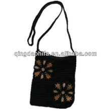 HIFA Children Straw Handbag Long Handle Paper Straw Bag