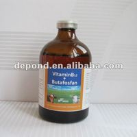 medicine for animal Vitamin B12 + Butafosfan injection