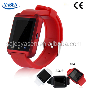 Bluetooth cheapest u8 smart watch for iPhone and for Android smartphone