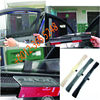 Car sun shade semi-automatic