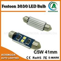 28mm 31mm 36mm 39mm 42mm C5W high power LED car license plate interior door sunvisor light bulb