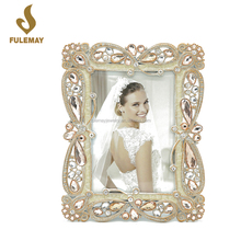 Gorgeous shiny diamond women wedding photo picture frame 8X10 wholesale prices
