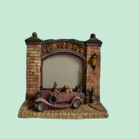 Unique Detailed Resin Brick Building Road Photo Picture Frame