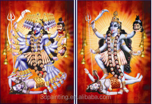 Factory wholesale HD 3d lenticular hindu gods picture with frame