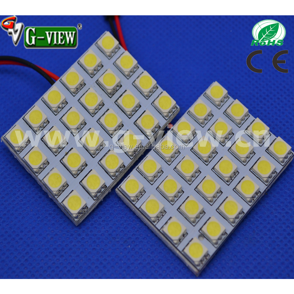 Ba9s,T10.Festoon pcb 5050 24smd auto led room roof lamp car dome light/license plate lamp