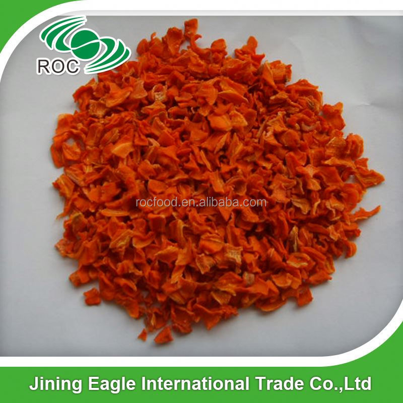 Different Type Of Minced Dehydrated Carrot