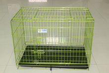 Suguan Wholesale Foldable Pet Dog Cage / Metal Dog kennel / 2 Door Dog Crate With Multiple Sizes
