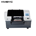 a4 digital 8-color UV led flatbed printer for plastic phone case with factory price