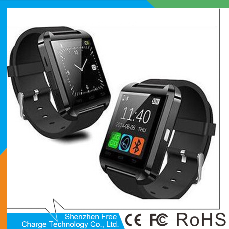 Bluetooth Smart Watch U8 WristWatch for Samsung S4/Note 3 HTC All Android Phone Smartphones