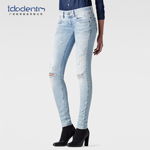 New Fashion Skinny Woman Jeans Manufacturers China