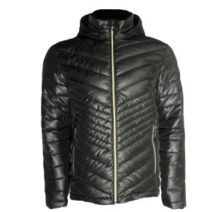 Wholesale Light Casual quilted jacket soft shell  Men's down coat