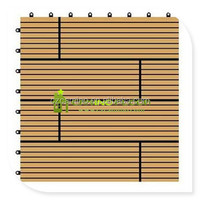 garden composite interlocking outdoor deck tiles