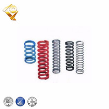 Helical coil spring plastic spring