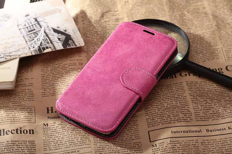 Retro PU Wallet Leather Smart Phone Case Magnetic Flip Cover Stand With Card Holder For xiaomi redmi 3s prime