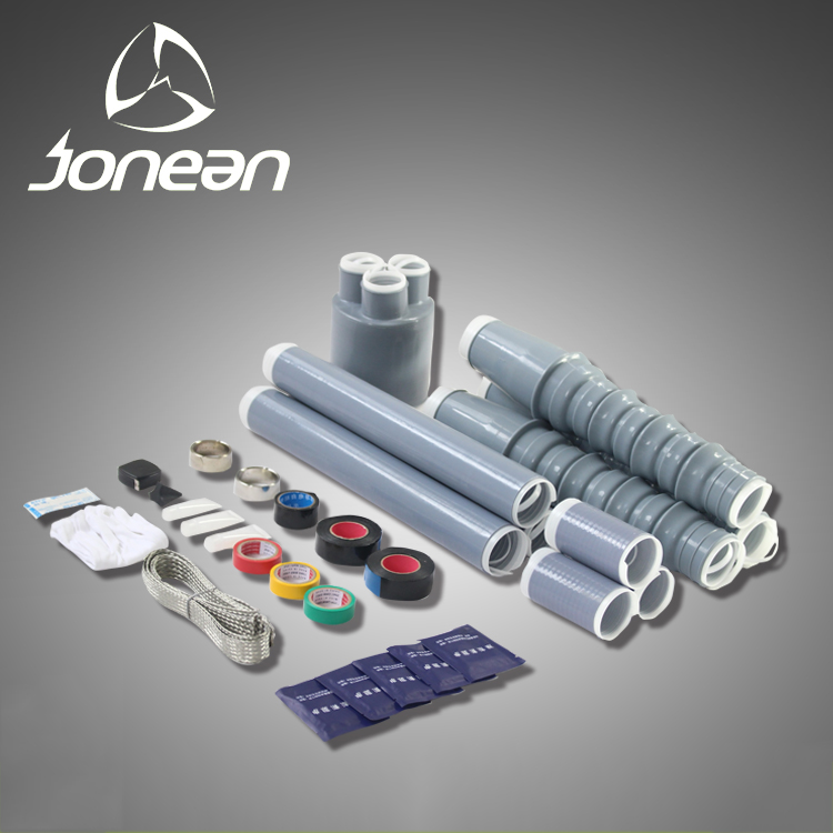 Jonean high elasticity silicone rubber scientific and reliable guarantee cold shrink Terminal Kit