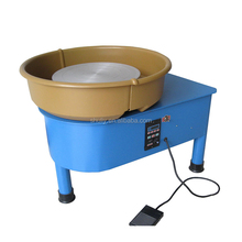 Easy-to-handle electric potters wheel with foot pedal for kids
