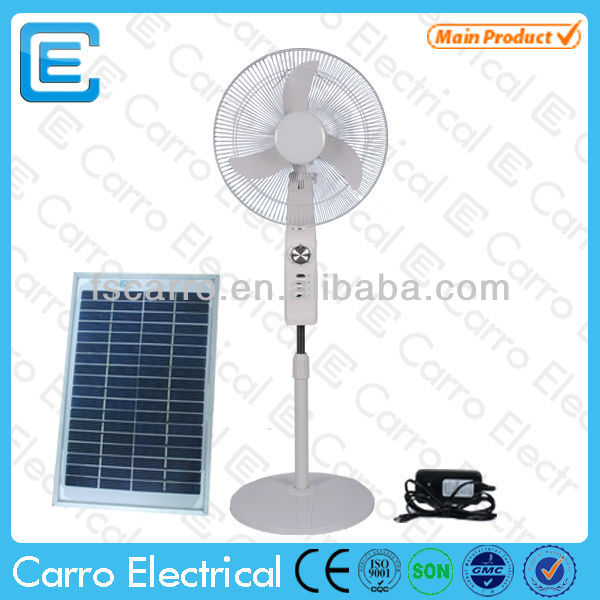 16 inch stand fan parts electric stand fan CE-12V16C2 with USB charger