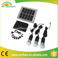 High quality mini solar system with mobile charger
