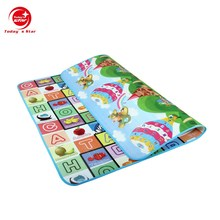 Hot sale home floor use EPE material eco-friendly thick foam play mat for baby