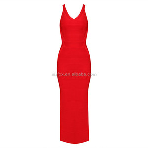 2015 Open Back female evening gown club wear long dresses
