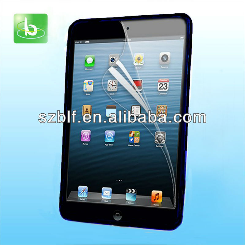 Newest professional screen guard for ipad mini with good price