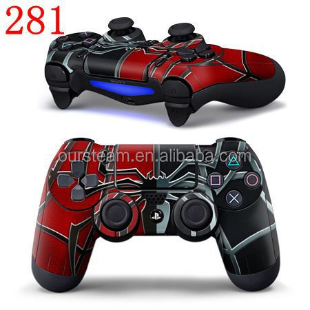 Custom Design Protective Vinyl Skin for PS4 Controller with Various Patterns Retail Wholesale