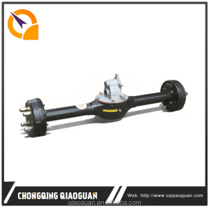 800W electric tricycle differential rear axle