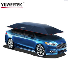 YuWeeTek Cheap price Hot sales Remote Control Smart electronic sunshade car umbrellas Automatic Car Cover with Factory Price