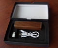 smart charger with capacity 2600mAh wooden shell Power bank
