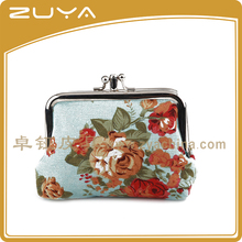 Alibaba china key bag small coin purse for children flower shaped beautiful wallet