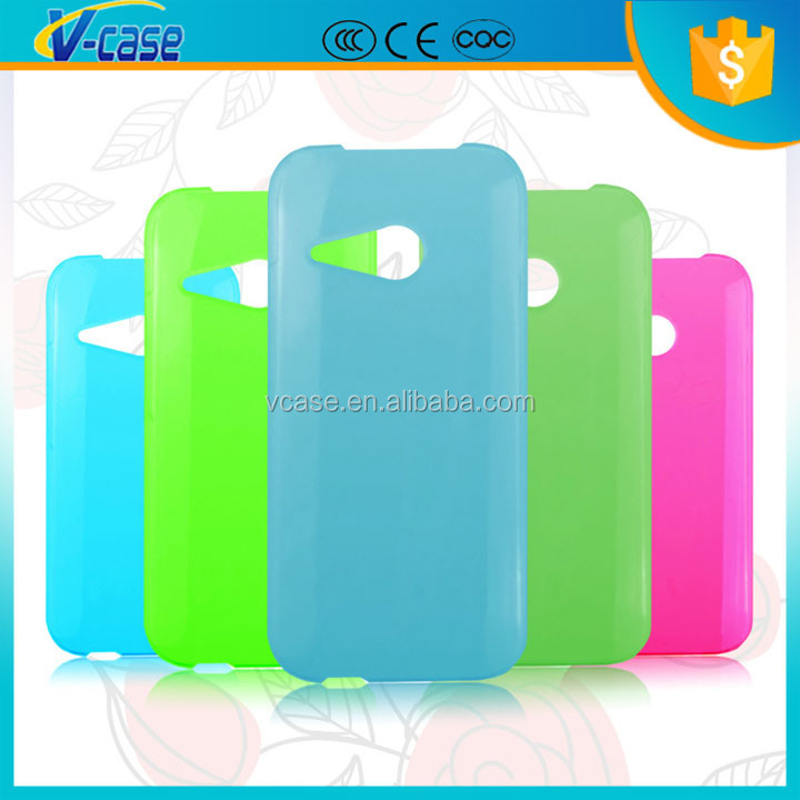 Clear Crystal Hard Back Case Cover for HTC Desire 816