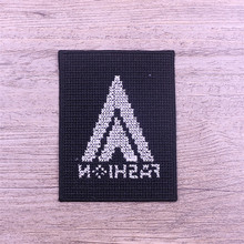 Custom leather baby embroidered ford patches
