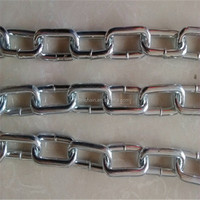 China wholesale high quality professional cheap sale galvanized hanging long link iron chain