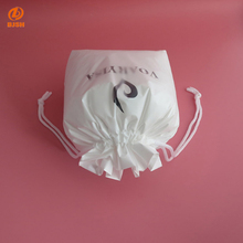 PVC Vinyl Soft Bag Drawstring Cosmetic Pouch Beauty Make Up Bag