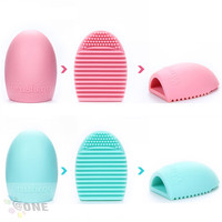 Egg Shape Silicone Gel Makeup Washing Brush Cleaner Brushegg
