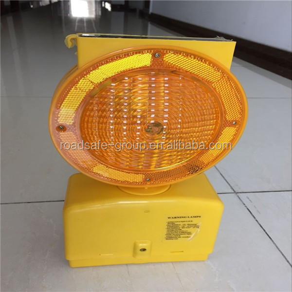 CE Solar Traffic Signal Light Solar Shark Warning Light Flashing Light