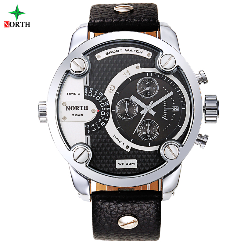 6001-1 the best product led watch sport stainless steel back gold plater wrist watch