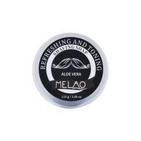 Melao 2019 New Cosmetic Wholesale Private Label 100% Pure Natural Organic Ingredient Mens Beard Care shaving soap