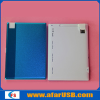 2014 New product Ultra-thin 4.8mm credit card power bank, micro usb battery charger, Card Design Portable Mobile power bank