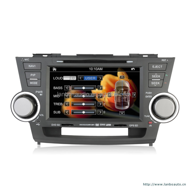 Car dvd for toyota prado 2014 with built-in IPOD