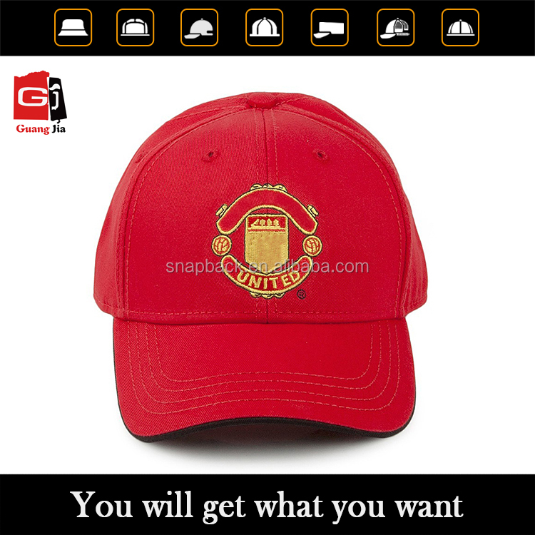 2016 Hat manufacturer made high quality custom embroidered 100% cotton 6 panel Baseball Cap