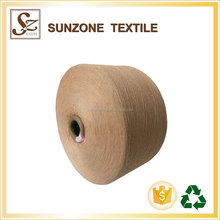 sunzone factory polyester yarn for zipper jersey yarn for knitting