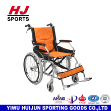 HJ-B087 Newest High Quality Aluminum alloy Wide Wheels Wheelchair Commode Used Manual Wheelchair, Wholesale!
