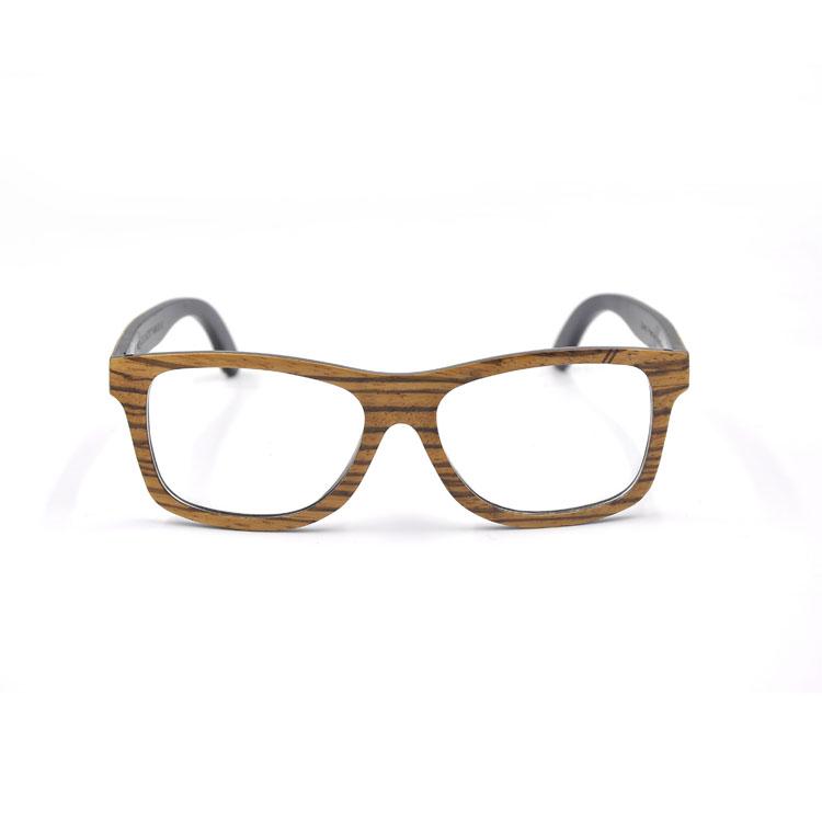 Gentleman Glasses Frames Optical Handmade Zebra Wood ...