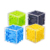 Custom cube puzzle rolling marble ball children play 3d plastic bead maze game
