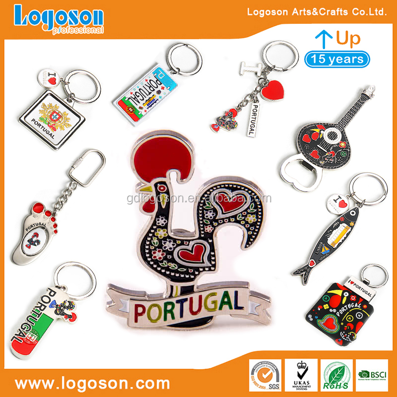 Portugal Souvenirs Magnet Manufacturer China Handicraft Printed Magnets Fridge Magnet Sticker